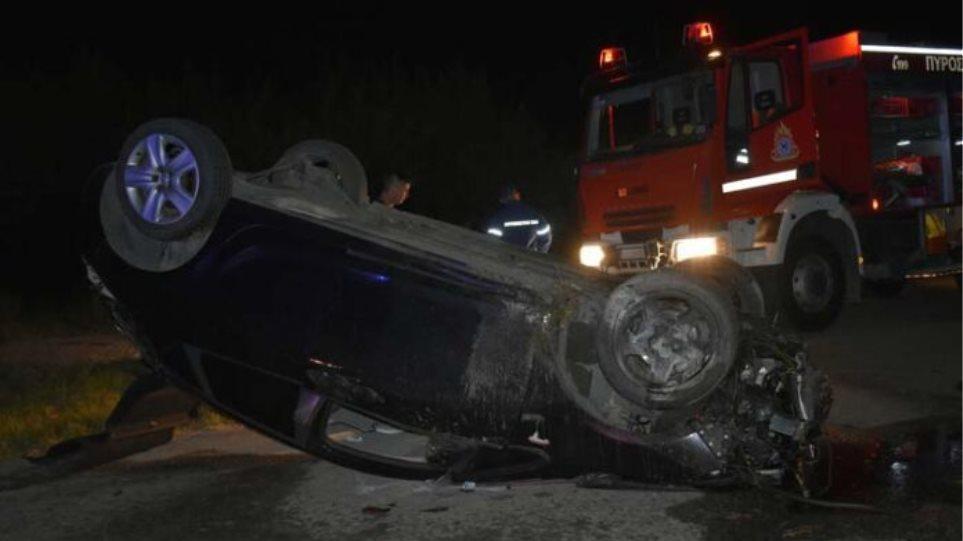 Τροχαίο: Νεκρός 32χρονος οδηγός - Σοκαριστικές εικόνες