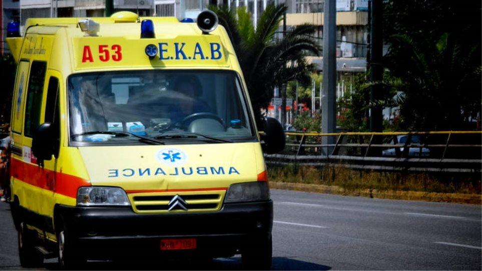 Τροχαίο με τρεις τραυματίες στο Λαύριο