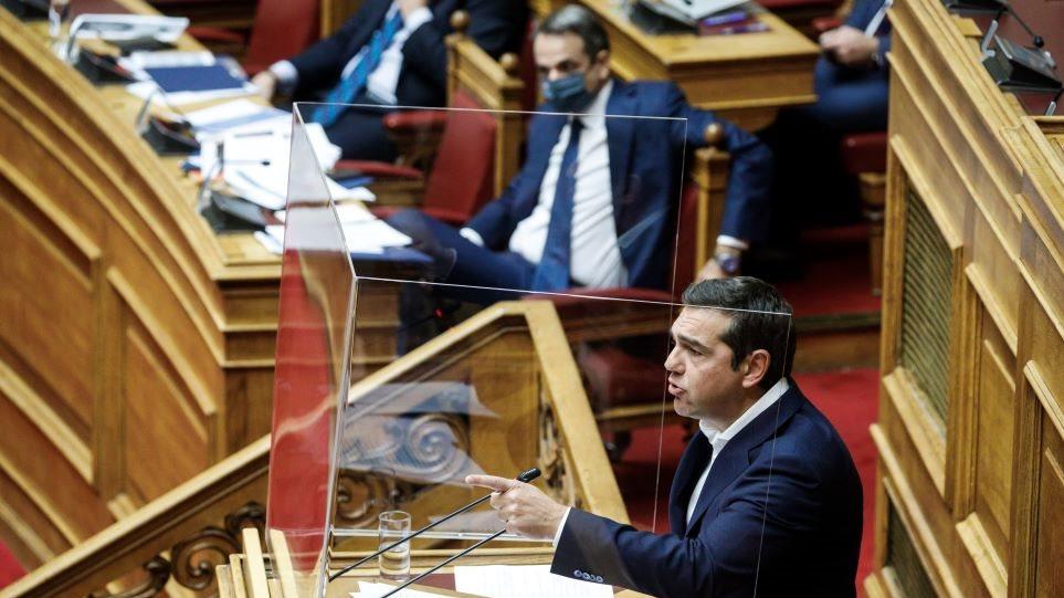 mitsotakis_tsipras_vouli