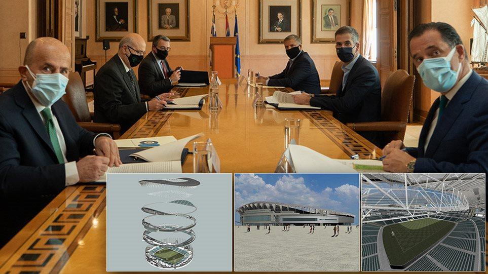 Υπουργείο Ανάπτυξης: Έπεσαν υπογραφές για τη διπλή ανάπλαση σε Λεωφόρο Αλεξάνδρας και Βοτανικό(ΦΩΤΟ)