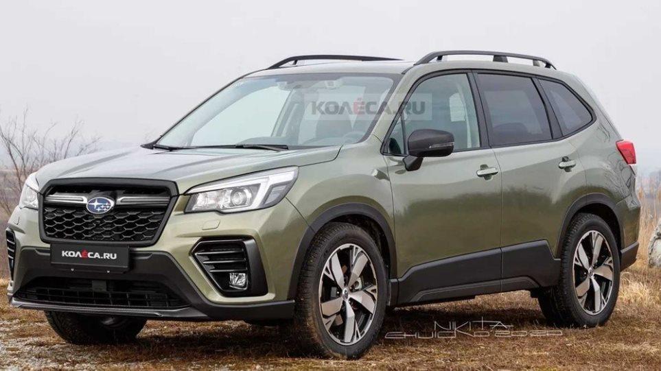 Subaru-forester-refresh-rendering-2022