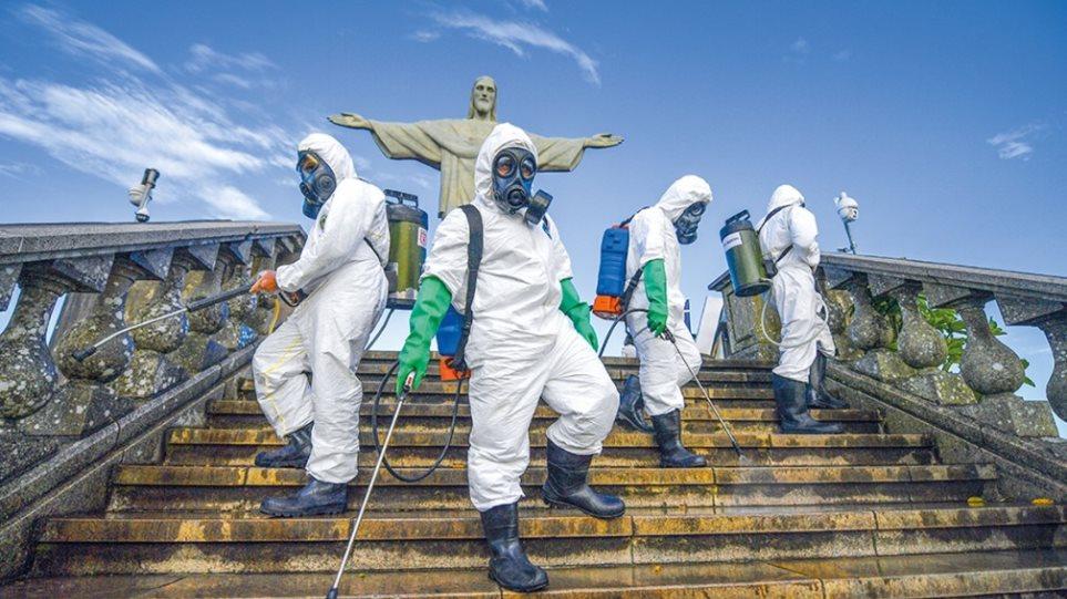 Πανδημία-Βραζιλία: Ξεπέρασε το όριο των 10 εκατ. κρουσμάτων