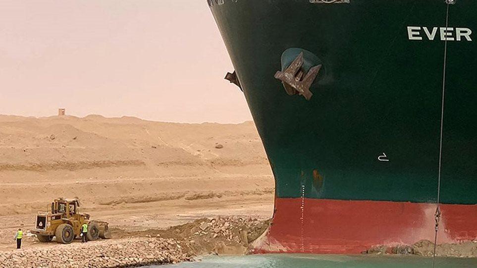 Σουέζ: Έχουμε κάνει το 87% της δουλειάς για να ρυμουλκήσουμε το Ever Given, λένε οι Αιγύπτιοι