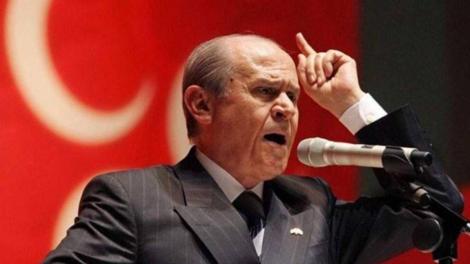 Παραλήρημα Μπαχτσελί: «Οι Ελληνες θα πληρώσουν το τίμημα για το αίμα του 1821»
