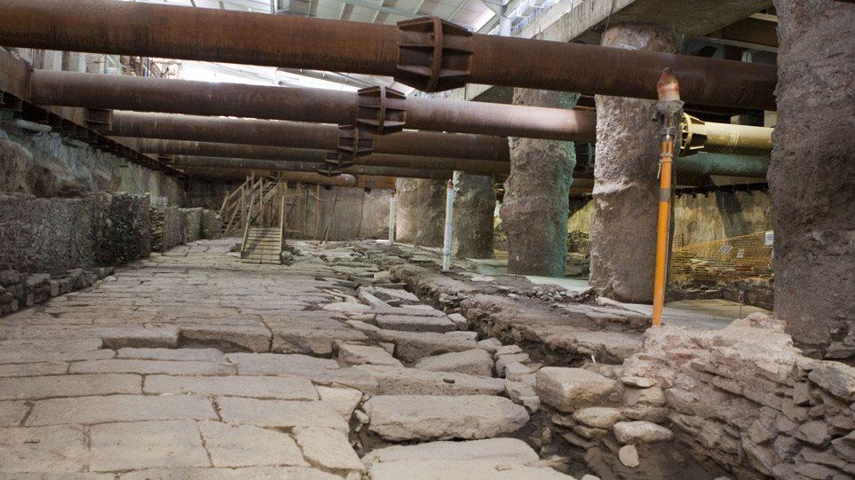 Μετρό Θεσσαλονίκης: Το ΣτΕ αποφάσισε υπέρ της προσωρινής απομάκρυνσης των αρχαίων από τον σταθμό Βενιζέλου