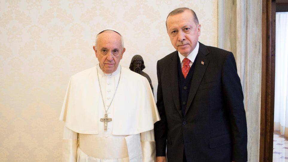 erdogan-pope-francis