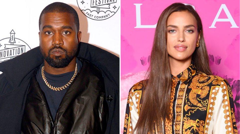 Kanye-West-and-Model-Irina-Shayk-Spark-Dating-Rumors