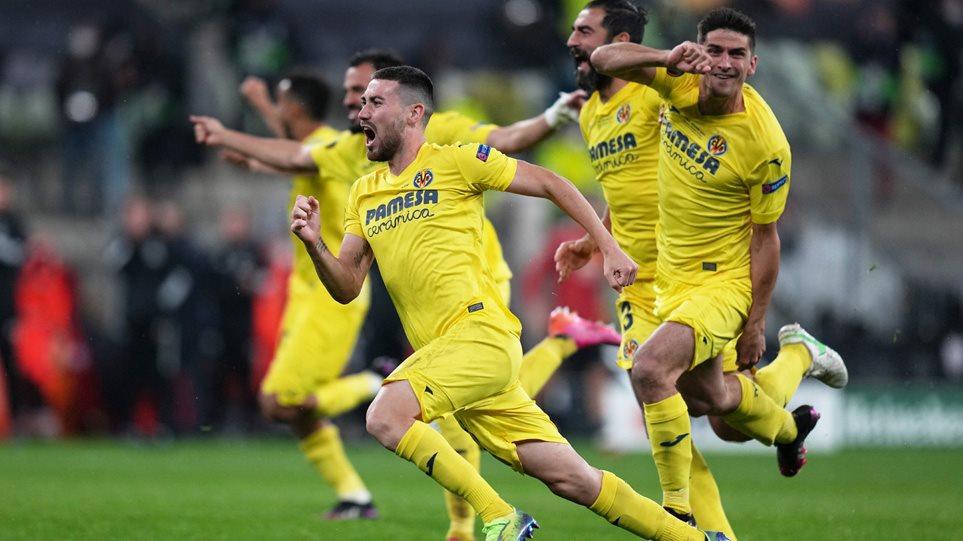 Τελικός Europa League, Βιγιαρεάλ-Μάντσεστερ Γιουνάιτεντ 1-1 (11-10 πέναλτι): Έγραψε ιστορία το «κίτρινο υποβρύχιο» – Δείτε τα γκολ
