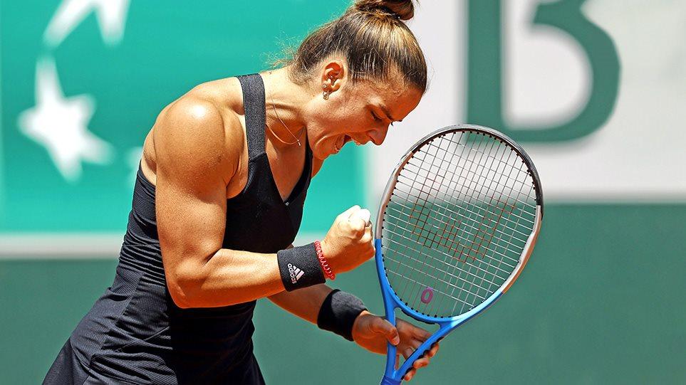 Roland Garros: Έγραψε ιστορία η Μαρία Σάκκαρη – Προκρίθηκε στις 4!