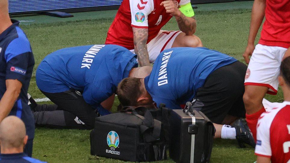 Euro 2020: Κατέρρευσε ο Κρίστιαν Έρικσεν μέσα στο γήπεδο – Δίνει μάχη για τη ζωή του – Διεκόπη το παιχνίδι Δανία-Φινλανδία