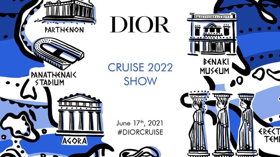 Dior: Οι επισκέψεις σε Κνωσό και Σαντορίνη και η παγκόσμια αντίστροφη  μέτρηση για το ντεφιλέ της Αθήνας - Βίντεο
