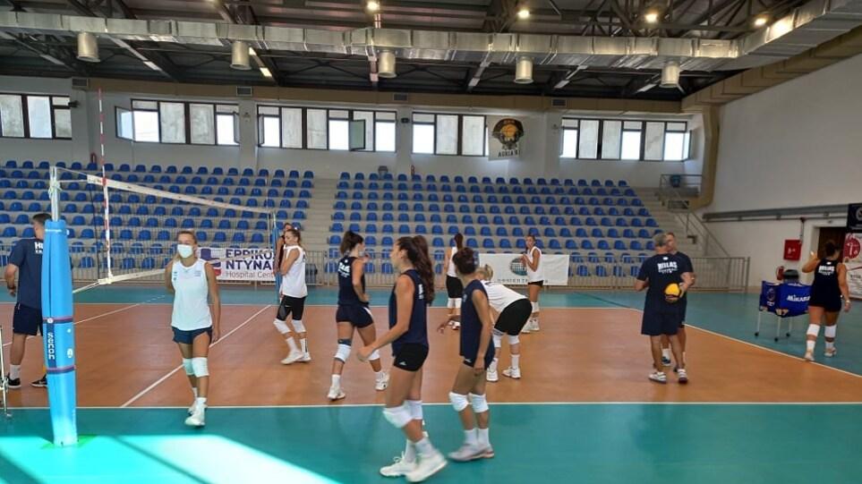 Ethnini_Volley_Gynaikon