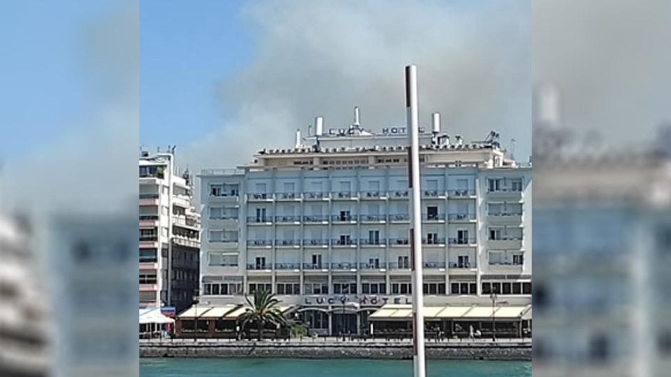 Φωτιά στη Χαλκίδα: Έχουμε αποφύγει τα δύσκολα, δηλώνει ο αντιπεριφερειάρχης Εύβοιας