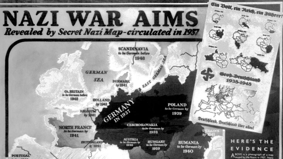 Σαν σήμερα ξεκινά ο Β' Παγκόσμιος Πόλεμος – Η Γερμανία εισβάλλει στην  Πολωνία την 1η Σεπτεμβρίου 1939