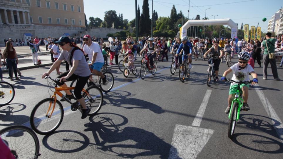 Κυκλοφοριακές ρυθμίσεις σήμερα στο κέντρο της Αθήνας λόγω ποδηλατικού αγώνα  - Ποιοι δρόμοι θα είναι κλειστοί