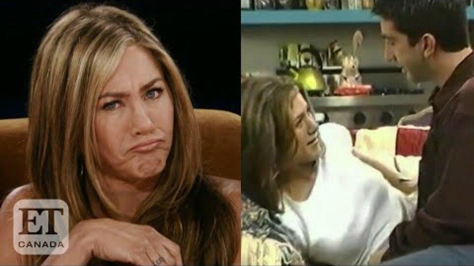 Jennifer Aniston Reveals Crush On David Schwimmer