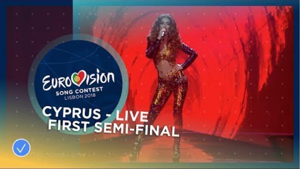 Eleni Foureira - Fuego - Cyprus - LIVE - First Semi-Final - Eurovision 2018  Πρώτη στα γραφεία στοιχημάτων η Ελένη Φουρέιρα  DRsfNObKIQ