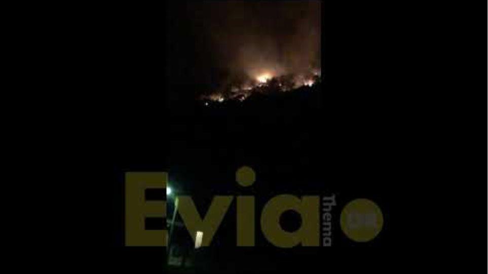 Eviathema.gr - Φωτιά στην Μάνη Λακωνίας