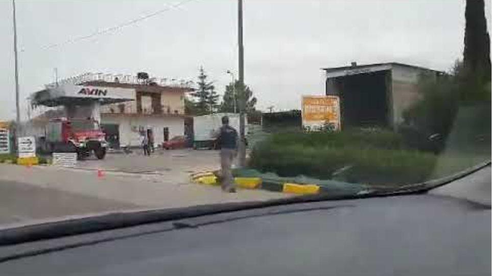 φωτια βενζιναδικο ιχ flamis.gr