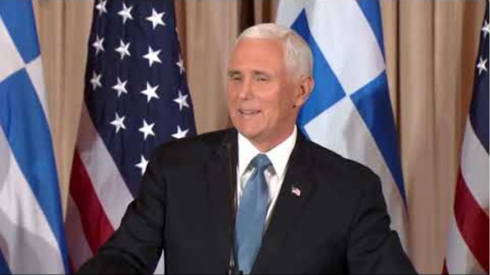 Secretary Pompeo and Vice President Pence host a reception, honor of Greek Prime Minister Mitsotakis