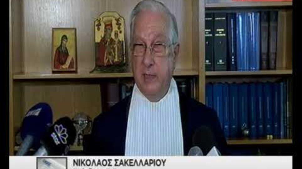 Με δάκρυα στα μάτια παραιτήθηκε ο πρόεδρος του Συμβουλίου της Επικρατείας