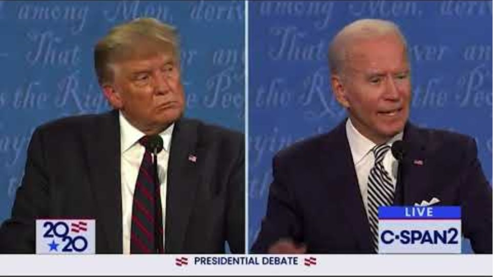 Trump and Biden discuss Portland protest violence, Proud Boys and Antifa during presidential debate