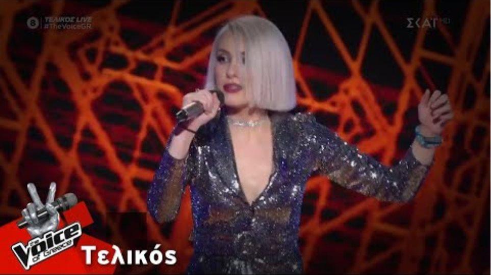 Ιωάννα Γεωργακοπούλου  - Love is a lie   Τελικός   The Voice of Greece