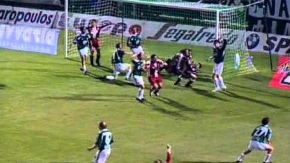 (HQ) Panathinaikos - Olympiakos 2 - 2 18.04.2004 26η Αγ. 2003-2004