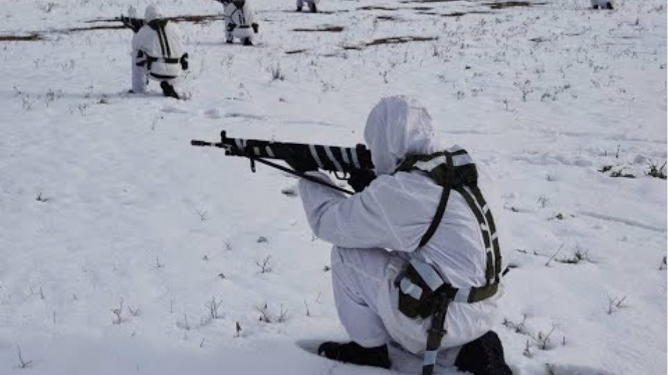 Winter Training of the Military School of Guards (SSE) and the School of Non-Commissioned Officers (SMY)