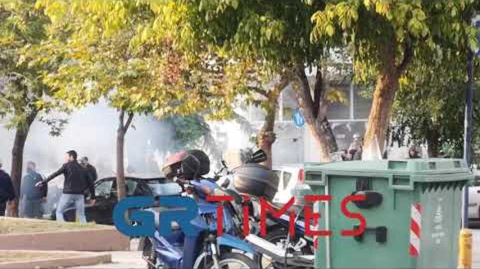 Σοβαρά επεισόδια στην πλατεία Τερψιθέας