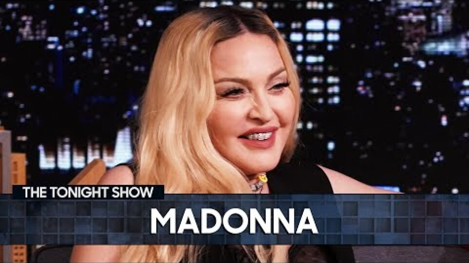 Madonna on Madame X and Getting Into Good Trouble | The Tonight Show Starring Jimmy Fallon