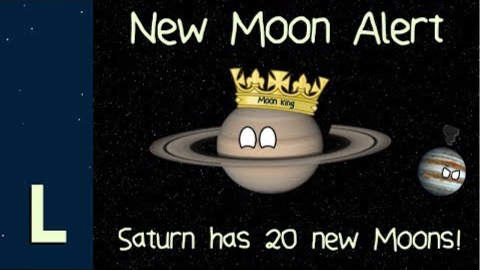 New Moon Alert: Saturn has 20 new Moons!