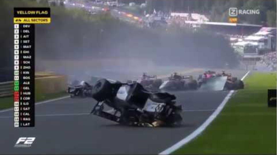 F2 Belgium-Spa 2019 Fatal Crash. Anthoine Hubert Passed Away.