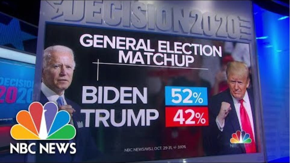 NBC News/WSJ Poll: Biden Leads Trump By 10 Points | Meet The Press | NBC News