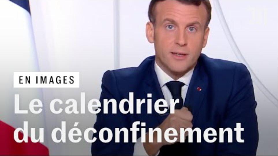 Noël, écoles, restaurants : Macron annonce les «trois étapes» du déconfinement face au Covid-19