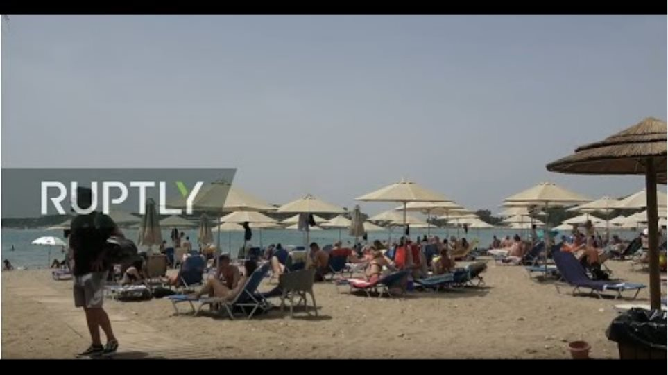 LIVE: Organised beaches reopen in Athens as heatwave strikes