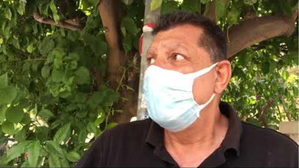 Αγία Βαρβάρα 64χρονη μαρτυρία γείτονα