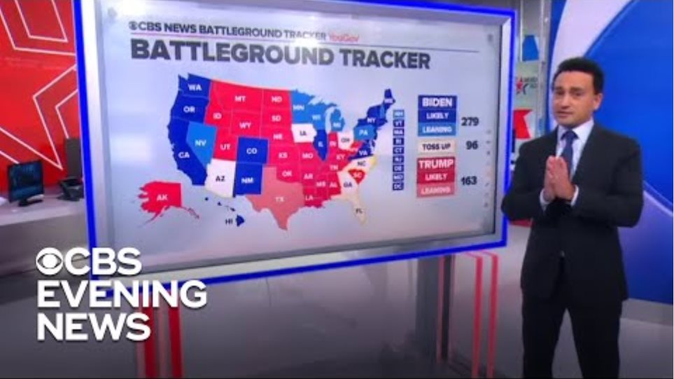 Biden has edge in early voting but Trump could win with Election Day surge