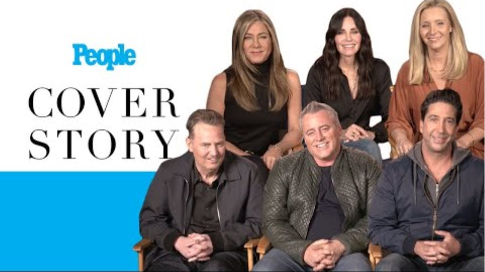 """'Friends' Reunion Exclusive: Cast Reflects on Beloved Show Before """"Emotional"""" Special   PEOPLE"""