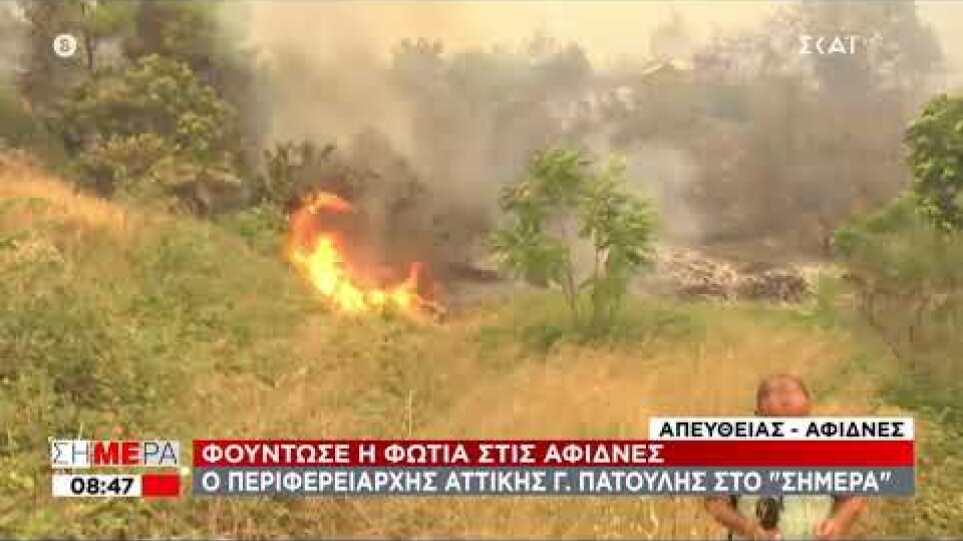 Αφίδνες φωτιά 06/08/2021