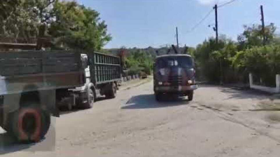 Νέος φράχτης από τον στρατό στο Τρίγωνο Έβρου