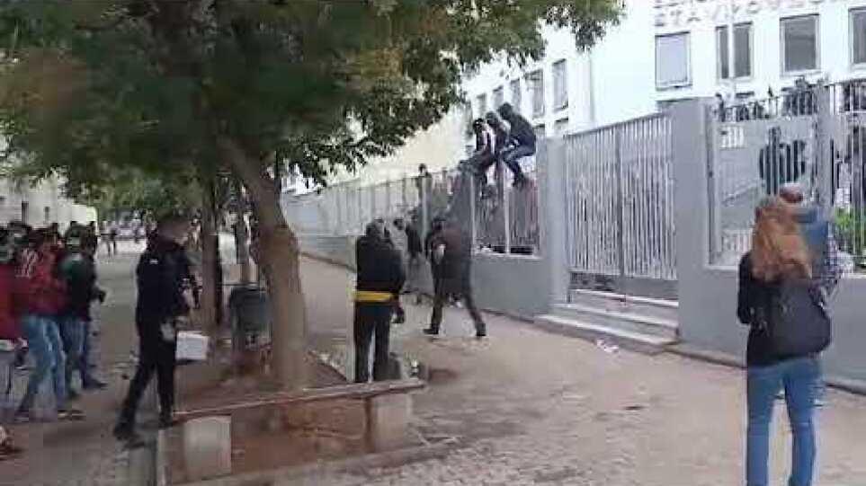 Επεισόδια στο 1ο 2ο ΕΠΑΛ Σταυρούπολης - Voria.gr