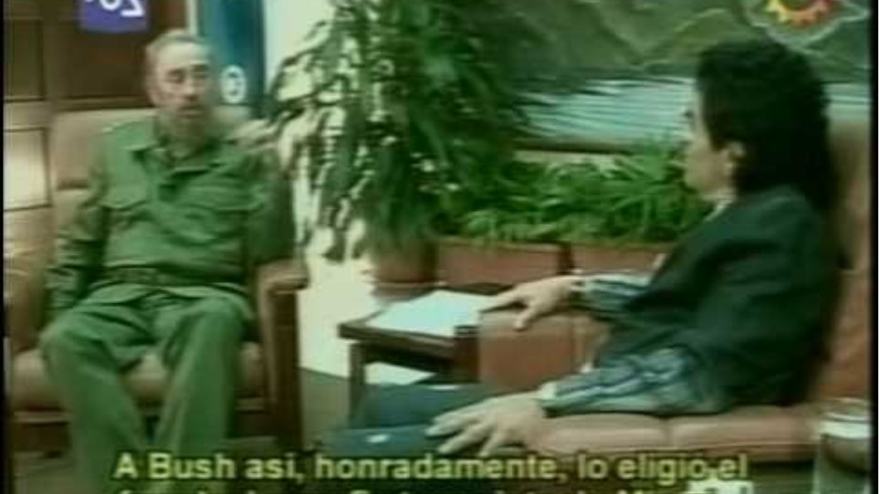 Maradona entrevista a Fidel Castro 1/4
