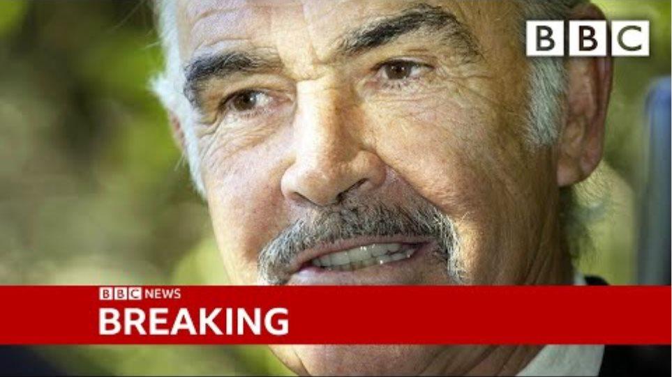 Sean Connery: James Bond actor dies aged 90 ? @BBC News live - BBC