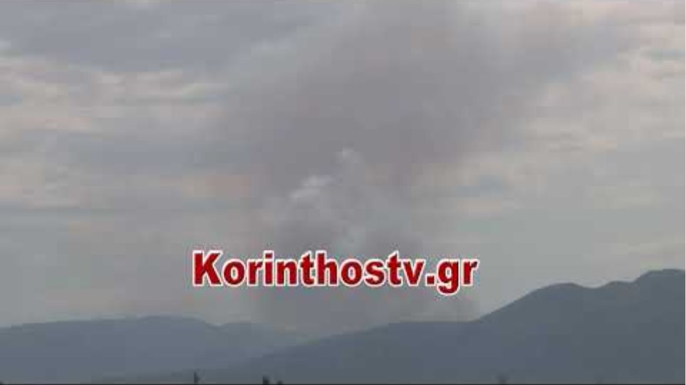 ΤΩΡΑ: Φωτιά στο Χιλιομόδι