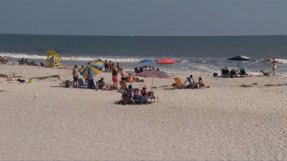Long Island town closes beaches after sharks spotted