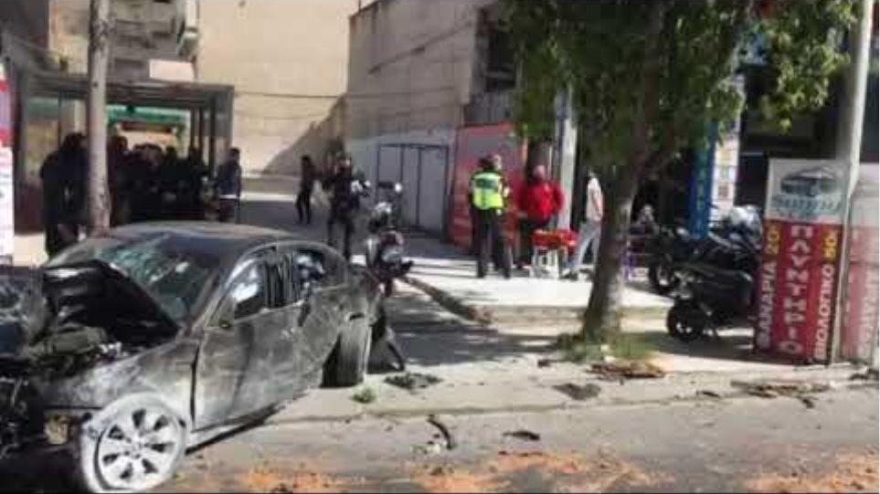 Κλεμμένο αυτοκίνητο συνελήφθη ο δράστης τρεις τραυματίες