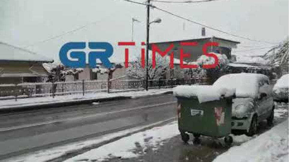 Χιόνια Αλεξάνδρεια Ημαθίας - GRTimes.gr