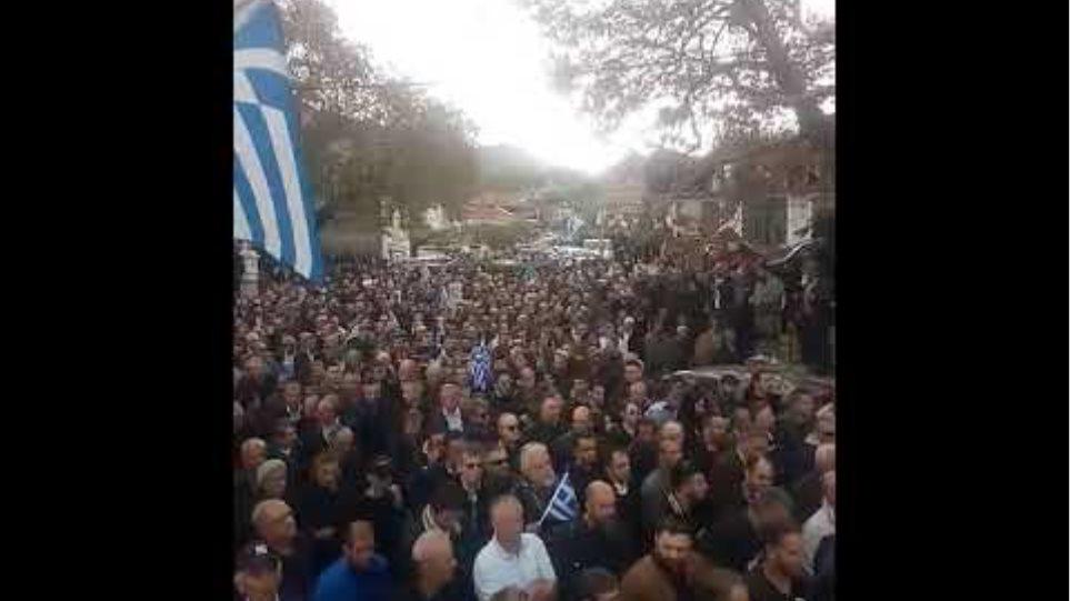 Βίντεο από κηδεία Κατσίφα (2)