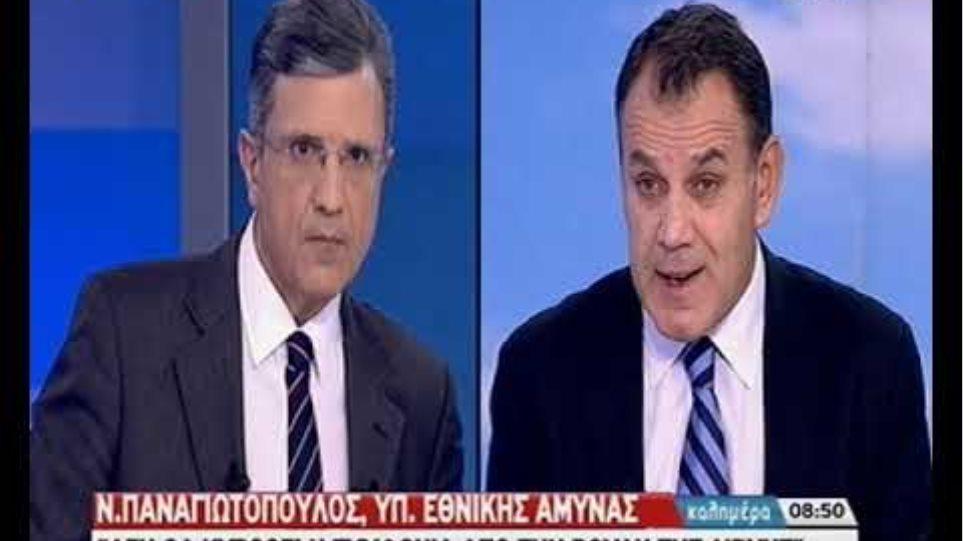 Ο Υπουργός Άμυνας, Νίκος Παναγιωτόπουλος, για τις συζητήσεις με την  Τουρκία
